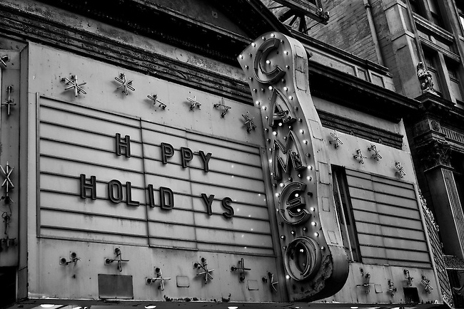 Hppy Holidys at the Cameo Theatre in Downtown Los Angeles, CA. (USA)