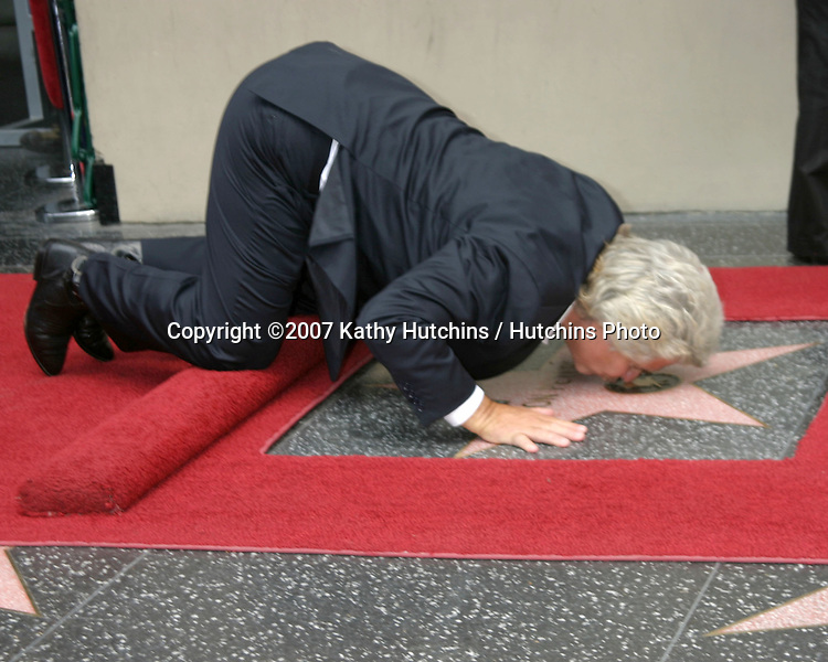 Jon Peters.Jon Peters receives a star on the Hollywood Walk of Fame.Hollywood & Highland.Los Angeles, CA.May 1, 2007.©2007 Kathy Hutchins / Hutchins Photo....