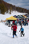 Winter Trails Snowshoe Event, Rocky Mountain National Park, Colorado, USA