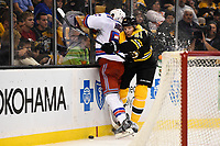 NHL 2015: Rangers vs Bruins SEP 24