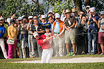Danny Willett of England gets his ball out of a bunker during the 58th UBS Hong Kong Golf Open as part of the European Tour on 11 December 2016, at the Hong Kong Golf Club, Fanling, Hong Kong, China. Photo by Marcio Rodrigo Machado / Power Sport Images