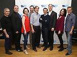 "John Plumpis, Ron McClary, Victoria Mack, Jeffrey C. Hawkins, Jeffrey Couchman, Scott Alan Evans, Karl Kenzler, Dana Smith-Croll and Joel Jones attends the TACT/The Actors Company Theatre Cast Meet & Greet for  ""Three Wise Guys"" on February 15, 2018 at the TACT Studios in New York City."