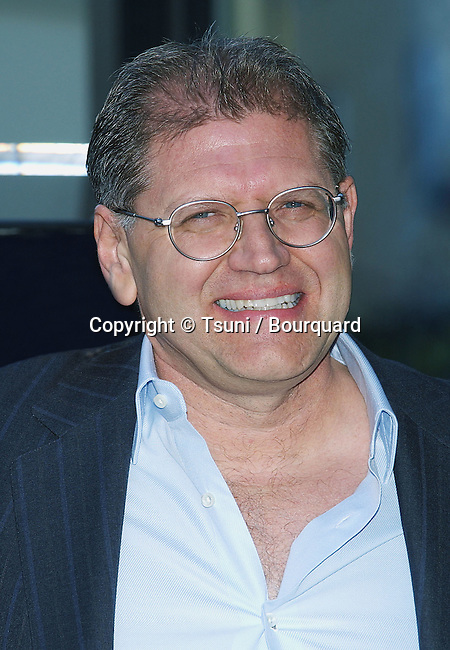 The Hollywood Walk of Fame honors director Robert Zemeckis. The Star is in front of Grauman's Chinese Theatre in Hollywood Blvd, Los Angeles.