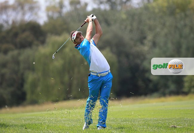 Jbe Kruger (RSA) plays second shot to the 4th during Round Three of the 2016 BMW SA Open hosted by City of Ekurhuleni, played at the Glendower Golf Club, Gauteng, Johannesburg, South Africa.  09/01/2016. Picture: Golffile | David Lloyd<br /> <br /> All photos usage must carry mandatory copyright credit (&copy; Golffile | David Lloyd)