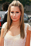 LOS ANGELES, CA. - September 13: Actress Ashley Tisdale arrives at the 60th Primetime Creative Arts Emmy Awards held at Nokia Theatre on September 13, 2008 in Los Angeles, California.