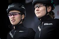 Katarzina Niewiadoma (POL/Canyon SRAM Racing), pre race, <br /> <br /> 3th Liège-Bastogne-Liège-Femmes 2019 (1.WWT)<br /> 1 Day Race: Bastogne – Liège 138,5km<br /> <br /> ©kramon