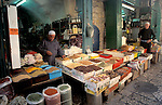 Israel, the market at the Old City of Jerusalem