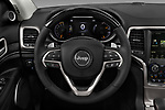 Car pictures of steering wheel view of a 2017 JEEP Grand-Cherokee Summit 5 Door SUV Steering Wheel