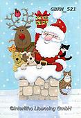 Kate, CHRISTMAS SANTA, SNOWMAN, WEIHNACHTSMÄNNER, SCHNEEMÄNNER, PAPÁ NOEL, MUÑECOS DE NIEVE, paintings+++++Christmas page 9,GBKM521,#x#