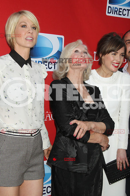 June 28, 2012 Jenna Elfman, Glenn Close and Rose Byrne at the 'Damages' Season 5 Premiere at The Paris Theatre on June 28, 2012 in New York City. &copy;&nbsp;RW/MediaPunch Inc. /*NORTEPHOTO.COM*<br />