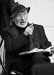 """King Lear"" rehearsed reading rehearsals. Old Vic Theatre. Director: Jonathan Miller. Vernon Dobtcheff."