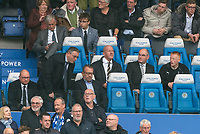 Newcastle United managing director Lee Charnley (left) during the Premier League match between Leicester City and Newcastle United at the King Power Stadium, Leicester, England on 29 September 2019. Photo by Andy Rowland.