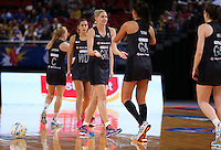 11.08.2015 Silver Ferns Casey Kopua in action during the Silver Ferns v Jamaica netball match at the 2015 Netball World Cup at All Phones Arena in Sydney Australia. Mandatory Photo Credit ©Michael Bradley.
