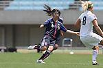 Ayu Nakada (JPN), .JUNE 17, 2012 - Football / Soccer : .Women's International Friendly match between U-20 Japan 1-0 U-20 United States .at Nagai Stadium, Osaka, Japan. (Photo by Akihiro Sugimoto/AFLO SPORT) [1080]