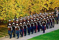 U.S Military at Arlington National Cemetery in Washington.