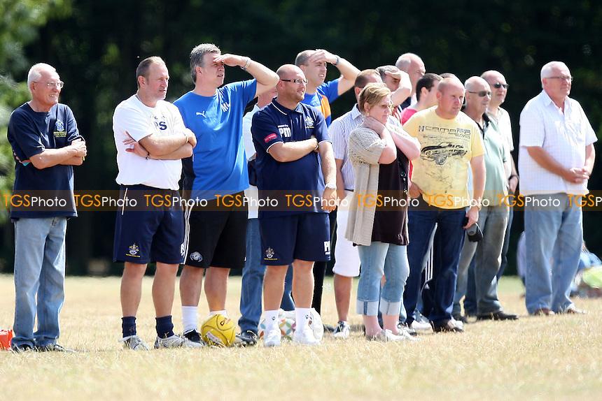 Upminster vs Romford - Pre-Season Friendly Football at Upminster Hall Playing Fields - 07/08/10 - MANDATORY CREDIT: Gavin Ellis/TGSPHOTO - Self billing applies where appropriate - Tel: 0845 094 6026