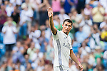 Cristiano Ronaldo of Real Madrid looks on during the La Liga match between Real Madrid and Osasuna at the Santiago Bernabeu Stadium on 10 September 2016 in Madrid, Spain. Photo by Diego Gonzalez Souto / Power Sport Images