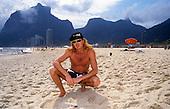 Jan 22, 1991: MEGADETH - Dave Mustaine in Rio de Janeiro Brazil