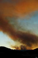 wildfire Lake County, California
