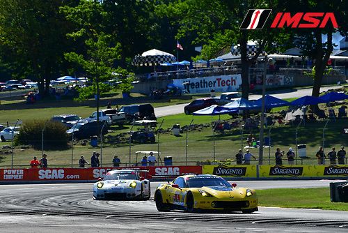 5-7 August, 2016, Elkhart Lake, Wisconsin USA<br /> 4, Chevrolet, Corvette C7, GTLM, Oliver Gavin, Tommy Milner<br /> &copy;2016, Richard Dole<br /> LAT Photo USA