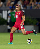 Carson, CA - Thursday August 03, 2017: Alex Morgan during a 2017 Tournament of Nations match between the women's national teams of the United States (USA) and Japan (JAP) at StubHub Center.