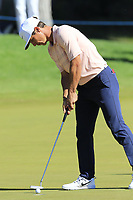 Thorbjorn Olesen (DEN) taps in for birdie on the 3rd green during Friday's Round 2 of the 2018 Turkish Airlines Open hosted by Regnum Carya Golf &amp; Spa Resort, Antalya, Turkey. 2nd November 2018.<br /> Picture: Eoin Clarke | Golffile<br /> <br /> <br /> All photos usage must carry mandatory copyright credit (&copy; Golffile | Eoin Clarke)