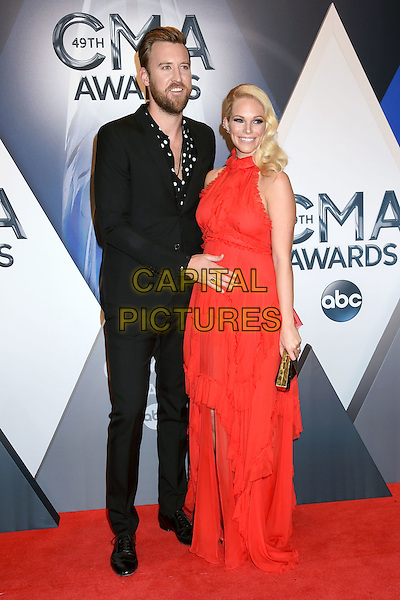 4 November 2015 - Nashville, Tennessee - Charles Kelley, Cassie McConnell, Lady Antebellum. 49th CMA Awards, Country Music's Biggest Night, held at Bridgestone Arena. <br /> CAP/ADM/LF<br /> &copy;LF/ADM/Capital Pictures