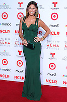 PASADENA, CA - SEPTEMBER 27: Daisy Fuentes arrives at the 2013 NCLR ALMA Awards held at Pasadena Civic Auditorium on September 27, 2013 in Pasadena, California. (Photo by Xavier Collin/Celebrity Monitor)