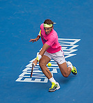 Rafael Nadal (ESP) defeats Kevin Anderson (RSA) 7-5, 6-1, 6-4 at the Australian Open being played at Melbourne Park in Melbourne, Australia on January 25, 2015