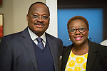 Governor Ajimobi, Oyo State, Nigeria with Bola Akande, Brentwood, MO City Administrator
