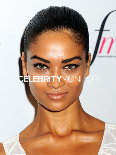 NEW YORK CITY, NY, USA - SEPTEMBER 05: Shanina Shaik arrives at the 2nd Annual Fashion Media Awards held at the Park Hyatt on September 5, 2014 in New York City, New York, United States. (Photo by Celebrity Monitor)