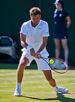 England, London, June 30, 2015, Tennis, Wimbledon, Robin Haase (NED) <br /> Photo: Tennisimages/Henk Koster