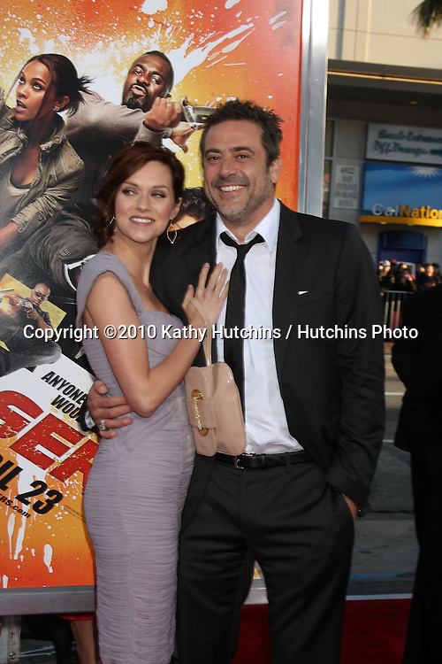 "Hilarie Burton, Jeffrey Dean Morgan.arrives at ""The Losers"" Premiere.Grauman's Chinese Theater.Los Angeles, CA.April 20, 2010.©2010 Kathy Hutchins / Hutchins Photo..."
