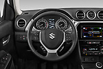 Car pictures of steering wheel view of a 2019 Suzuki Vitara Grand Luxe Xtra 5 Door SUV