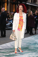 Cleo Rocos at the Noah - UK film premiere held at the Odeon Leicester Square, London. 31/03/2014 Picture by: Henry Harris / Featureflash