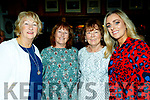 L-R Angela O'Sullivan, Kay o'Carroll, Helen Boyle and Gillian Lucid all from Ballyduff enjoying the Kerry Hurling All stars night in the Abbeydorney GAA clubhouse last Friday.