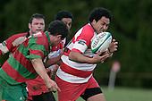 Counties Manukau Premier McNamara Cup Semi Final rugby game between Karaka & Waiuku, played at  Karaka on 28th July 2007. Karaka won 18 - 15.