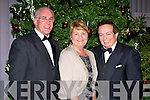 Sean Walsh and his wife with RTE presenter Marty Morrissey at the Munster GAA awards in the Malton Hotel on Saturday night
