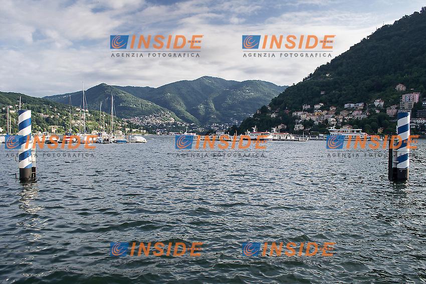 Il Lago di Como esonda dopo settimane di continue piogge<br /> Como's lake overflows after weeks of continuous rains<br /> Como 18-06-2016<br /> Photo Laura Binda/Insidefoto