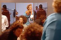 sfilate; made in italy; moda; modelle; trucco; make up; bellezza