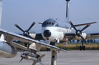 - Italian Navy, antisubmarine aircraft Breguet Atlantic on the Cagliari Elmas airport ....- Marina militare italiana, aereo antisommergibili Breguet Atlantic sull'aeroporto di cagliari Elmas