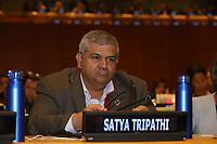 NOVA YORK, EUA, 05.02.2019 - ONU-NOVA YORK - Satya Tripathi durante encontro para falar sobre a comida no mundo na Sede da Onu em Nova York nesta terça-feira, 05.  (Foto: Vanessa Carvalho/Brazil Photo Press)