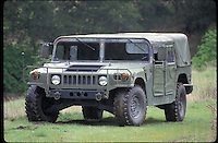 """HMMWV or """"Humvee"""" manufactured by AM General.  Common variants include M998, M1114, M707, and many others.  Credit Hans Halberstadt.  Reproduction requires license."""