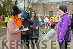 Enjoying the Parkrun on Saturday for  RTE  Operation Transformation. Mary Dillan give an Interview with RTE