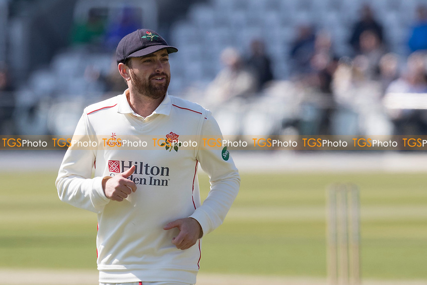Stephen Parry of Lancashire CCC during Middlesex CCC vs Lancashire CCC, Specsavers County Championship Division 2 Cricket at Lord's Cricket Ground on 11th April 2019