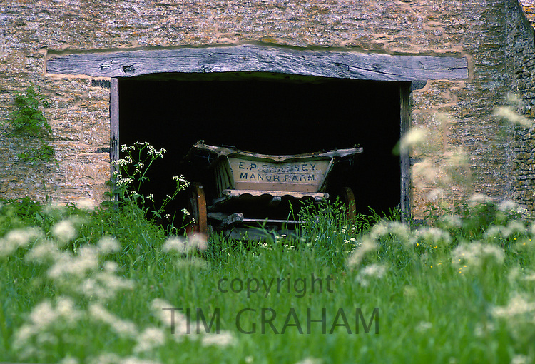 Hay wagon, Gloucestershire, United Kingdom