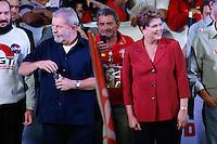 SAO PAULO, SP, 29.09.2014 - ELEICAO 2014 - DILMA ROUSSEFF. A presidente Dilma Rousseff, candidata à reeleição, e o ex presidente Luis Inacio Lula da Silva  participa de comício no Campo Limpo, em São Paulo (SP), na noite desta segunda-feira, 29. (Foto: Adriana Spaca/Brazil Photo Press)