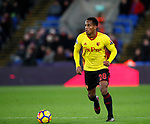 Watford's Andre Carrillo during the premier league match at Selhurst Park Stadium, London. Picture date 12th December 2017. Picture credit should read: David Klein/Sportimage