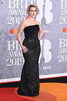 LONDON, UK. February 20, 2019: Claire Richards arriving for the BRIT Awards 2019 at the O2 Arena, London.<br /> Picture: Steve Vas/Featureflash<br /> *** EDITORIAL USE ONLY ***