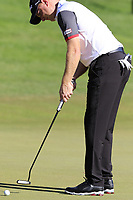 Richard McEvoy (ENG) putts on the 18th green during Friday's Round 2 of the 2018 Turkish Airlines Open hosted by Regnum Carya Golf &amp; Spa Resort, Antalya, Turkey. 2nd November 2018.<br /> Picture: Eoin Clarke | Golffile<br /> <br /> <br /> All photos usage must carry mandatory copyright credit (&copy; Golffile | Eoin Clarke)